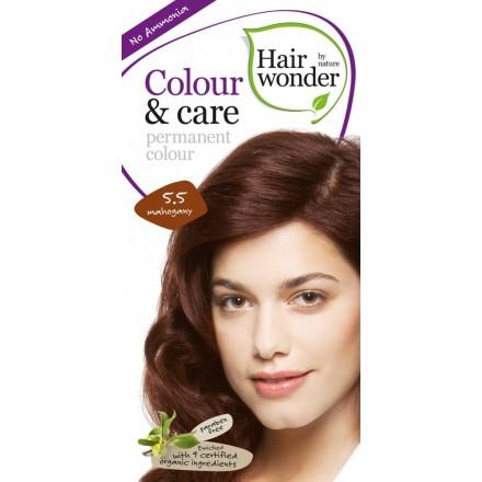 henna colour care mahagoni 5 5 permanete haarfarbe mit