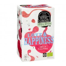 Love & Happiness Tee bio-zertifiziert (Box à 16 Stk.)