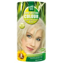 Hennaplus Long Lasting Colour sehr Helles Silber Blond 10.01